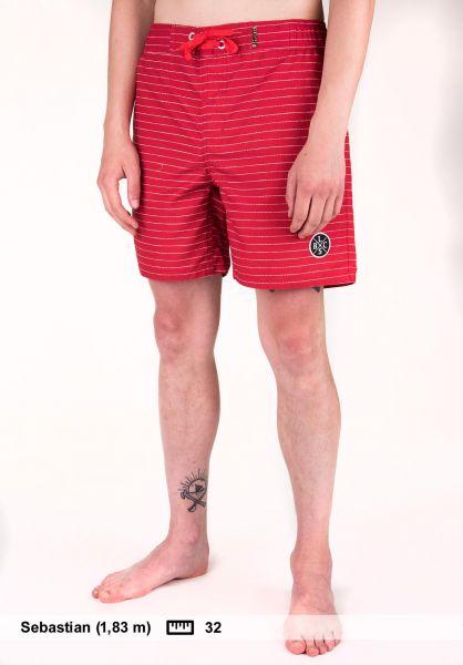 Light Beachwear Needle 17 red Vorderansicht