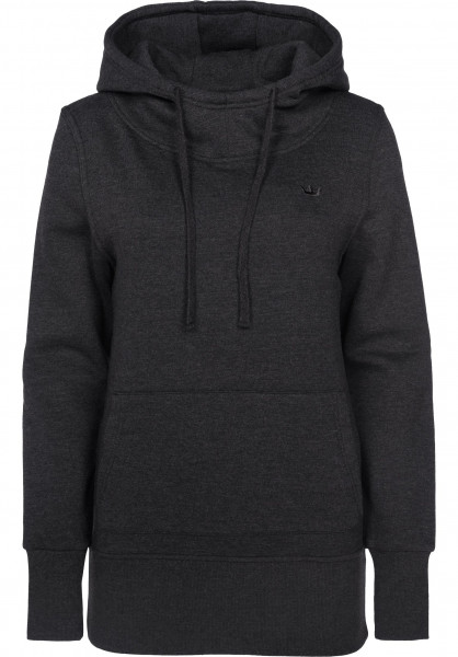 Rules Hoodies Delta-Girls darkgreymottled Vorderansicht