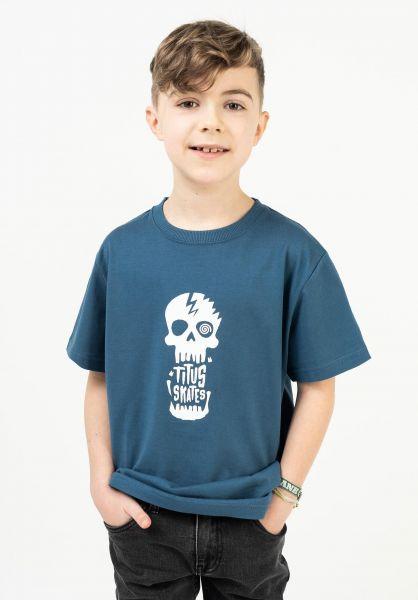 TITUS T-Shirts Tamaro Kids stellar vorderansicht 0321017