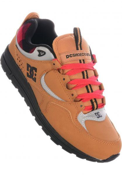 DC Shoes Alle Schuhe Kalis Lite WNT wheat-black vorderansicht 0604687