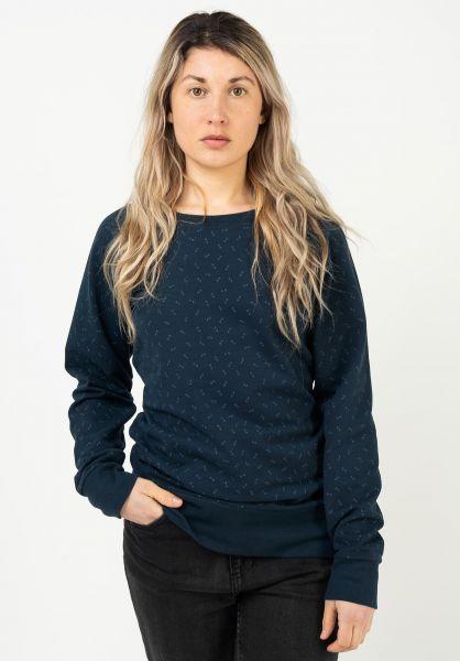 Mazine Sweatshirts und Pullover Moon navy-printed vorderansicht 0423208