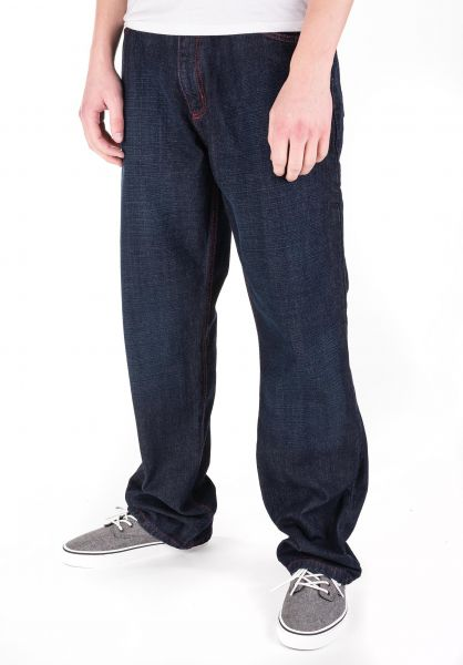 Fourasses Jeans TheFours darkblue-red vorderansicht 0227158