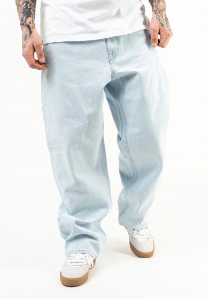 Volcom Jeans Billow Pant lightblue vorderansicht 0269092