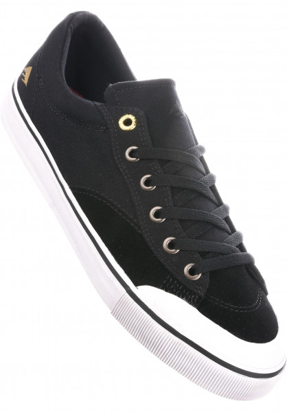 Emerica Alle Schuhe The Indicator Low black-white Vorderansicht
