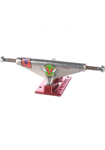 Venture Achsen 5.2 High V-Hollow OG Wings silverpolished-red vorderansicht 0122933