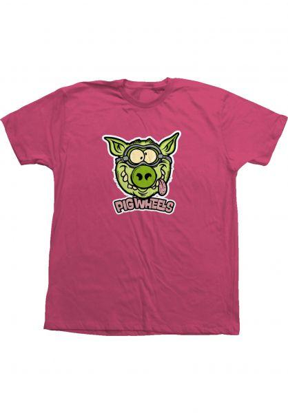 Pig T-Shirts Toxic deepseacoral vorderansicht 0323285