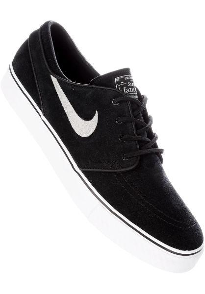 best website 5048e e90ae Nike SB Alle Schuhe Zoom Stefan Janoski OG black-white vorderansicht 0603943