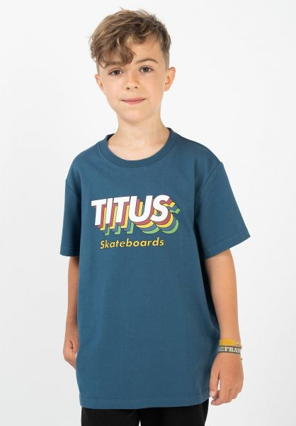 TITUS T-Shirts Layers Kids stellar vorderansicht 0320935