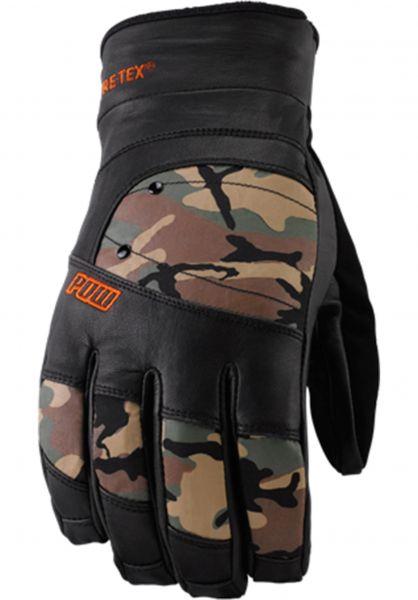 POW Handschuhe Royal GTX camo Vorderansicht
