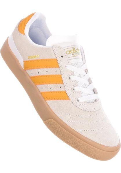adidas-skateboarding Alle Schuhe Busenitz Vulc ADV white-tactileyellow-gum vorderansicht 0603027