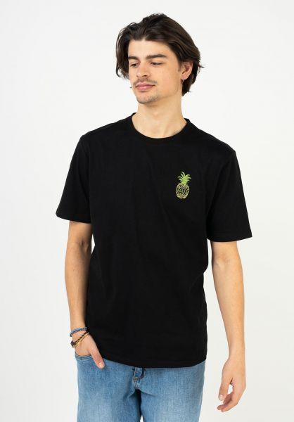 TITUS T-Shirts Joris black vorderansicht 0321999
