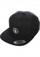 Volcom-Caps-Quarter-Twill-black-Vorderansicht