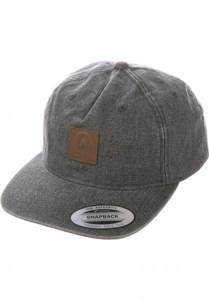 Volcom Caps Old Mill black vorderansicht 0566778