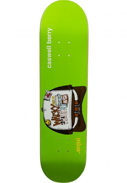 Enjoi Skateboard Decks Berry Snap Back R7 green vorderansicht 0265233