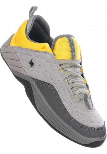 DC Shoes Alle Schuhe Williams Slim grey-yellow vorderansicht 0604730