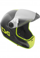 TSG Fullface-Helme Pass Pro Carbon Graphic Design shoot Vorderansicht