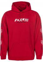 brixton-hoodies-x-independent-shine-hood-red-vorderansicht-0445274