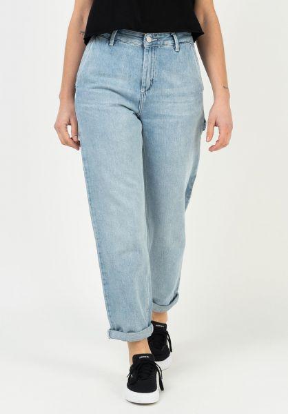 Carhartt WIP Jeans W´ Pierce bluelightstonewashed vorderansicht 0269099