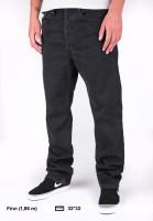 Levis Skate Jeans 501 Original blackrinse Vorderansicht