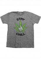 Bro-Style-T-Shirts-Stay-Chill-heathergrey-Vorderansicht