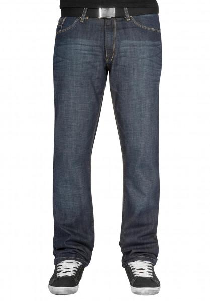 Reell Jeans Lowrider midblue-denim Vorderansicht