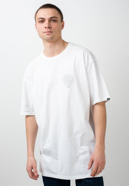 Vans T-Shirts Pro Skate Reflective white vorderansicht 0321644
