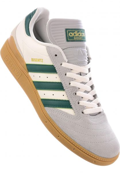 huge selection of d3dab fb722 ... white 45.47 5d503 68930 low cost adidas skateboarding alle schuhe  busenitz pro grey green gum vorderansicht a412e 0db4e ...
