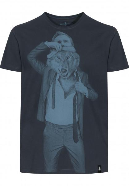 Dirty Velvet T-Shirts The Wolf Within darkcharcoal Vorderansicht