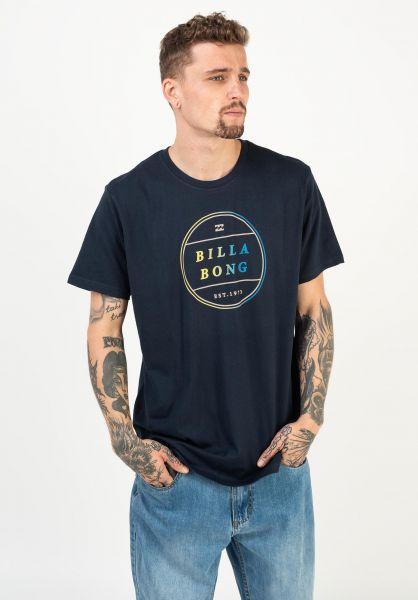 Billabong T-Shirts Breaker navy vorderansicht 0322646