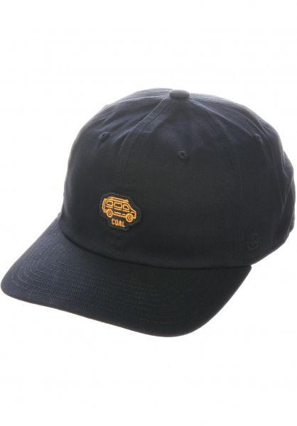 coal Caps The Junior black vorderansicht 0565194