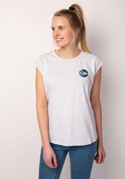 TITUS T-Shirts Debbie lightheathergrey vorderansicht 0398470