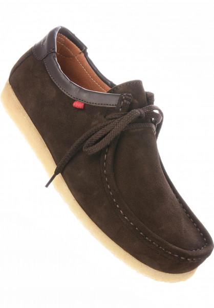 Djinns Alle Schuhe Genesis Low darkbrown Vorderansicht