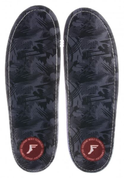 Footprint Insoles Einlegesohlen Kingfoam Gamechangers Camo grey-camo vorderansicht 0249076