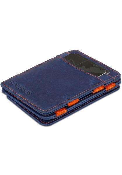 Hunterson Portemonnaie Magic Coin Wallet RFID blue-orange vorderansicht 0781047