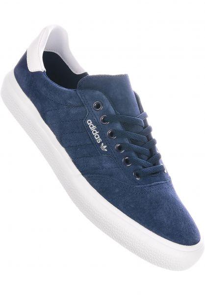 adidas-skateboarding Alle Schuhe 3MC collegiatenavy-white-grey vorderansicht 0604427
