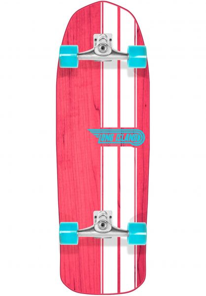 """Long Island Cruiser komplett Dreamland Surfskate 32"""" pink-white vorderansicht 0252865"""
