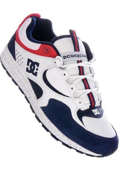 DC Shoes Alle Schuhe Kalis Lite SE white-red-blue vorderansicht 0604572