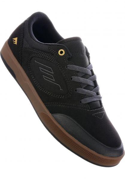 Emerica Alle Schuhe Dissent grey-gum vorderansicht 0604640