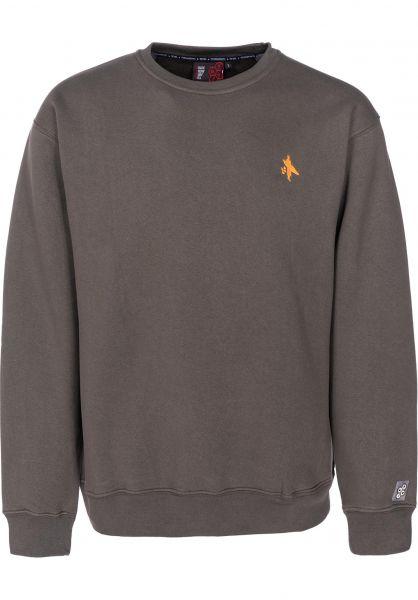 Fourasses Sweatshirts und Pullover Surfer olive vorderansicht 0422656
