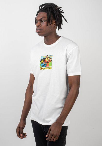 Deathwish T-Shirts Bullseye white vorderansicht 0320182