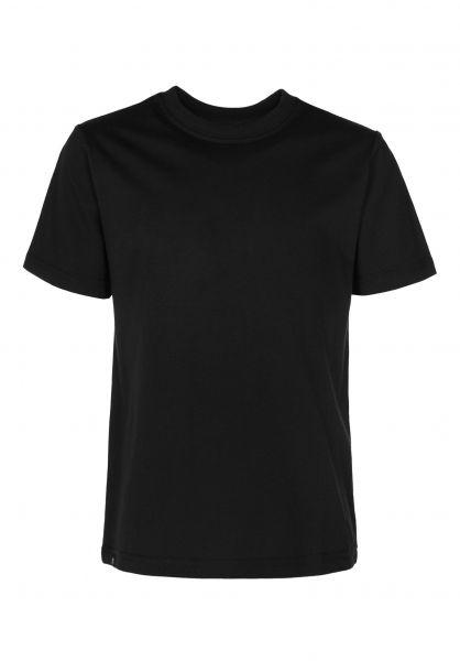 TITUS T-Shirts Essential Tee Kids black Vorderansicht