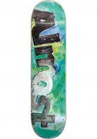 Almost Skateboard Decks Color Bleed green Vorderansicht