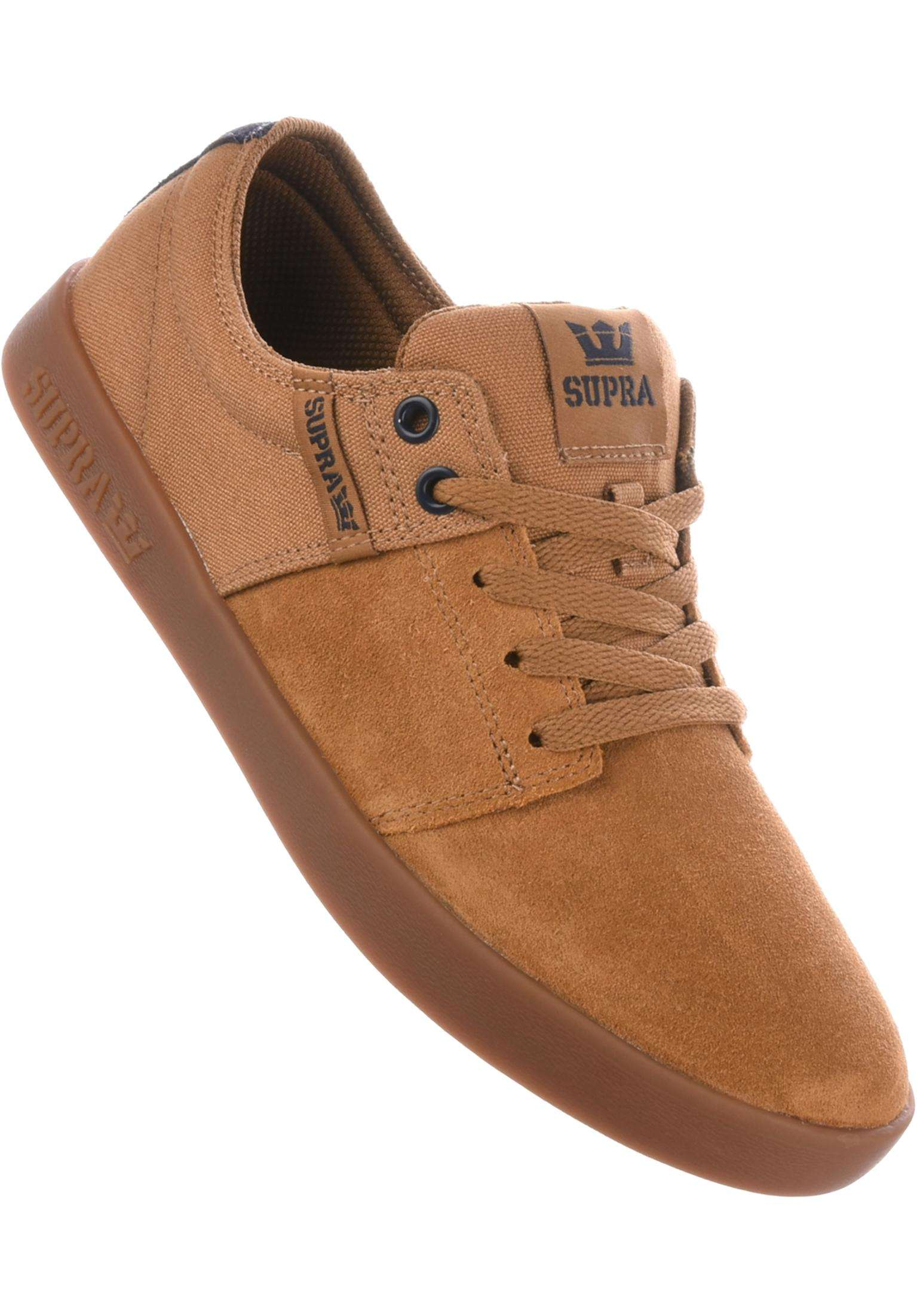 2d254db61077 Stacks II Supra All Shoes in tan-navy-gum for Men
