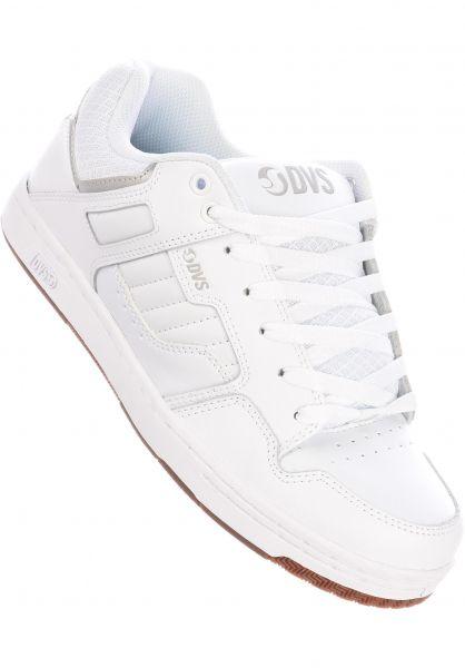 DVS Alle Schuhe Enduro 125 white-reflective-gum vorderansicht 0604189