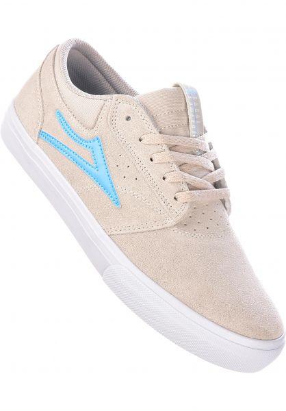 Lakai Alle Schuhe Griffin white-lightblue vorderansicht 0603274