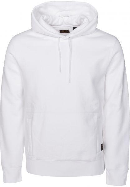 Levis Skate Hoodies Pullover Hoodie bright-white Vorderansicht