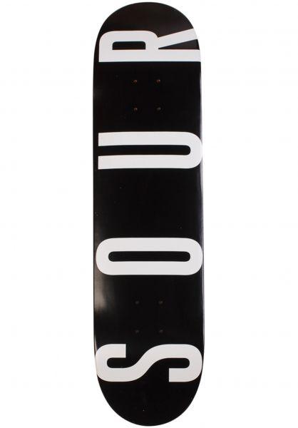 Sour Solution Skateboard Decks Sour Army black vorderansicht 0264917