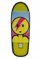 Prime Verschiedenes Lance Mountain X Jason Lee Dough Bowie Board Lapel Pin yellow Vorderansicht