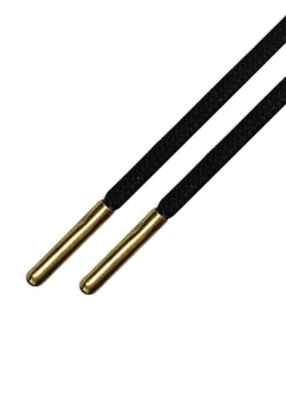 Mr. Lacy Schnürsenkel Gold Rush Runnies Round black-gold vorderansicht 0640048