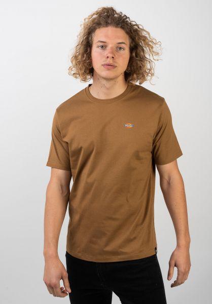 Dickies T-Shirts Stockdale brownduck vorderansicht 0397354